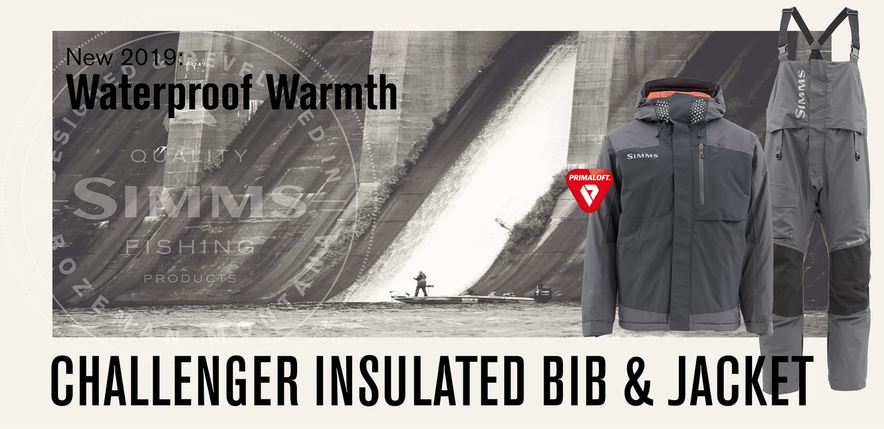 Simms Challenger Insulated Jacket & Bib