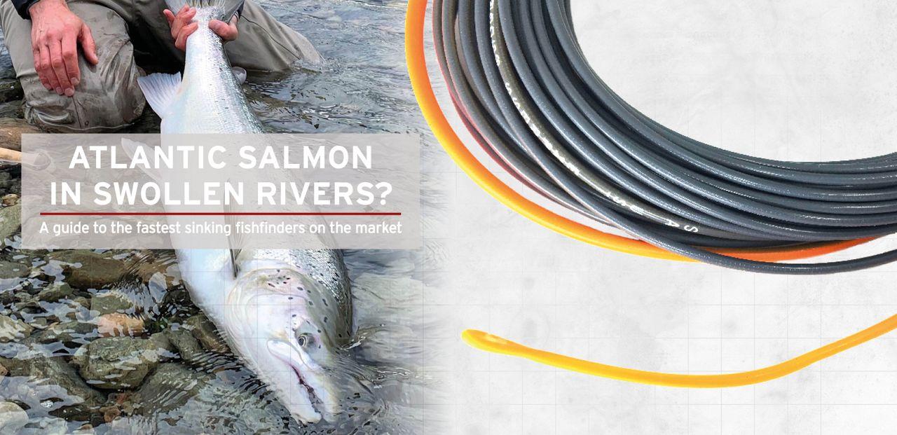 Atlantic Salmon in Swollen Rivers - No Sweat!