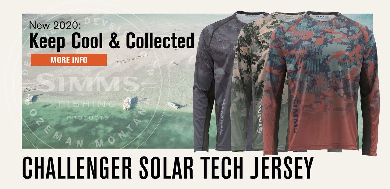 Simms Challenger Solar Tech Jersey