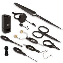 Complete Fly Tying Tool Kit - Black