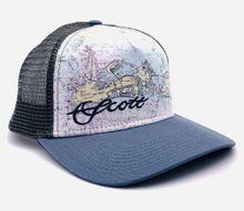 Florida Marine Chart Mesh Hat