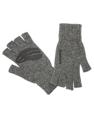 Wool ½ Finger Glove