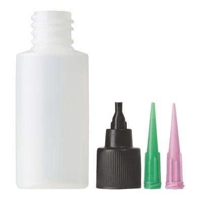 Applicator Bottle, Cap & Needles