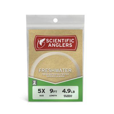 Freshwater Leader 7.5ft (2-pack)