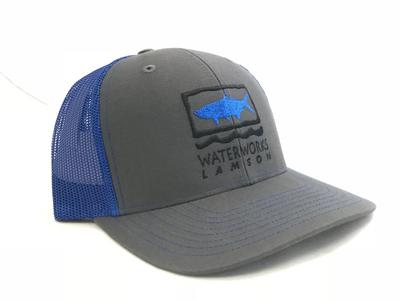 Saltwater Logo Hat Trucker