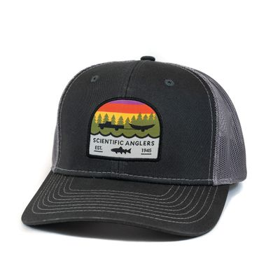 SA Hat Trout Patch Dark Grey