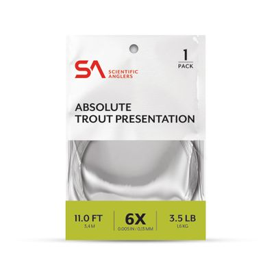Absolute Trout Presentation Leader 11'