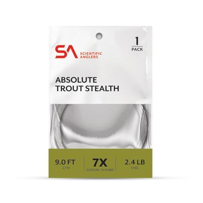 Absolute Trout Stealth Leader 9'