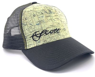 Colorado Map Mesh Hat