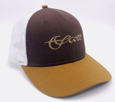 Tri-Color Mesh Hat