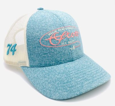 Teal Women's Mesh Hat